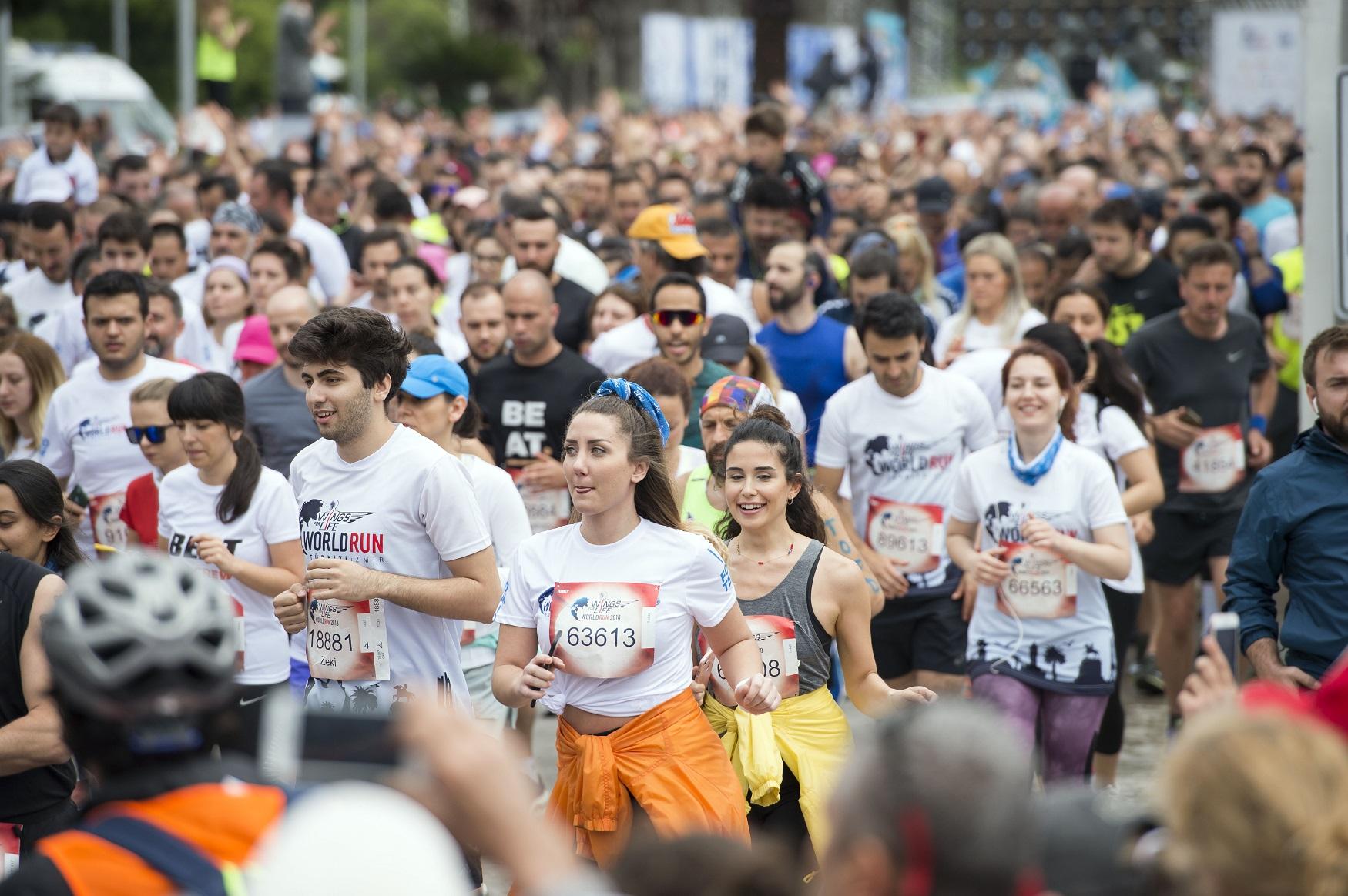 Photo of Wings For Life World Run yine İzmir'de