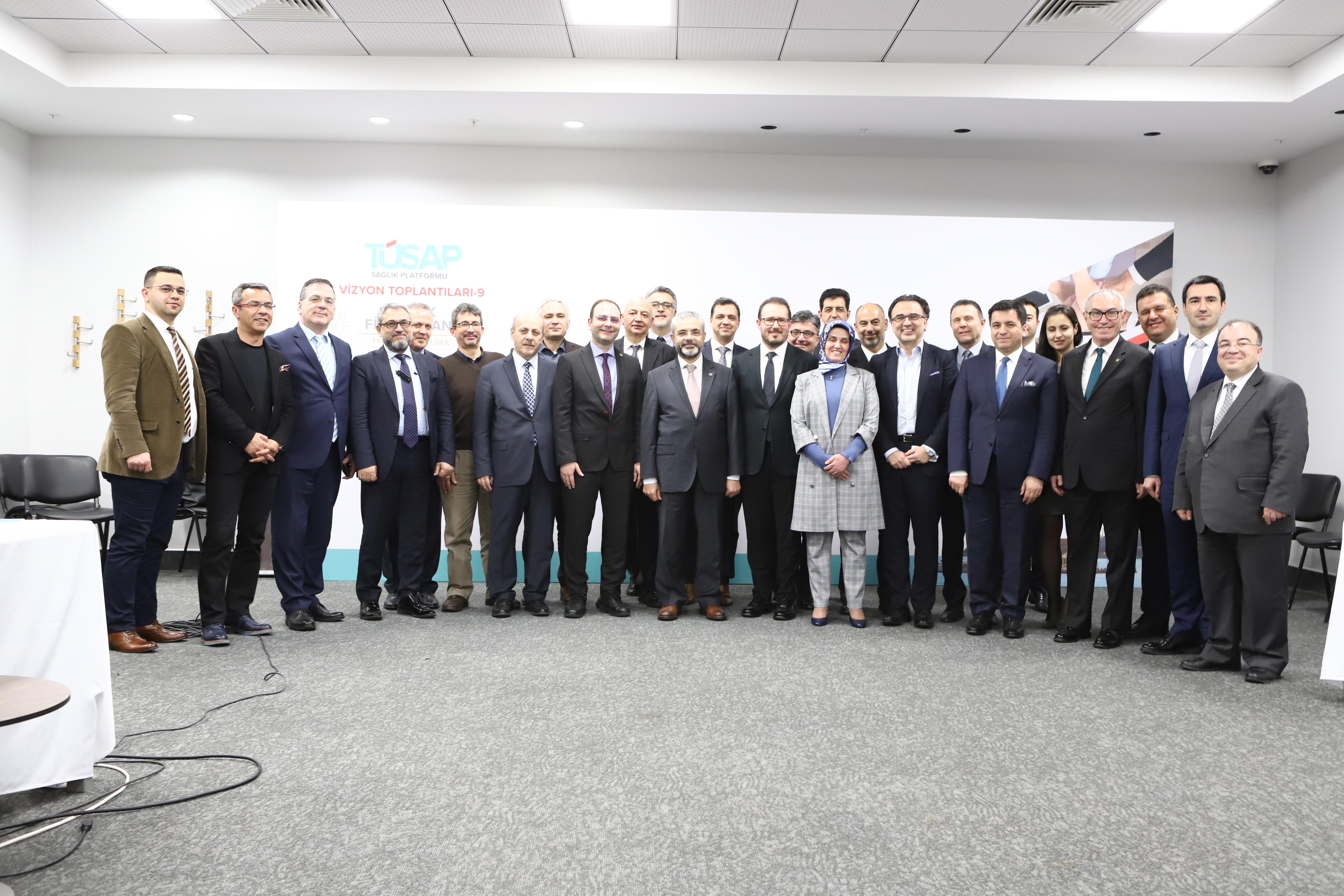 Photo of TÜSAP Vizyon Toplantısında sağlık finansmanı masaya yatırıldı